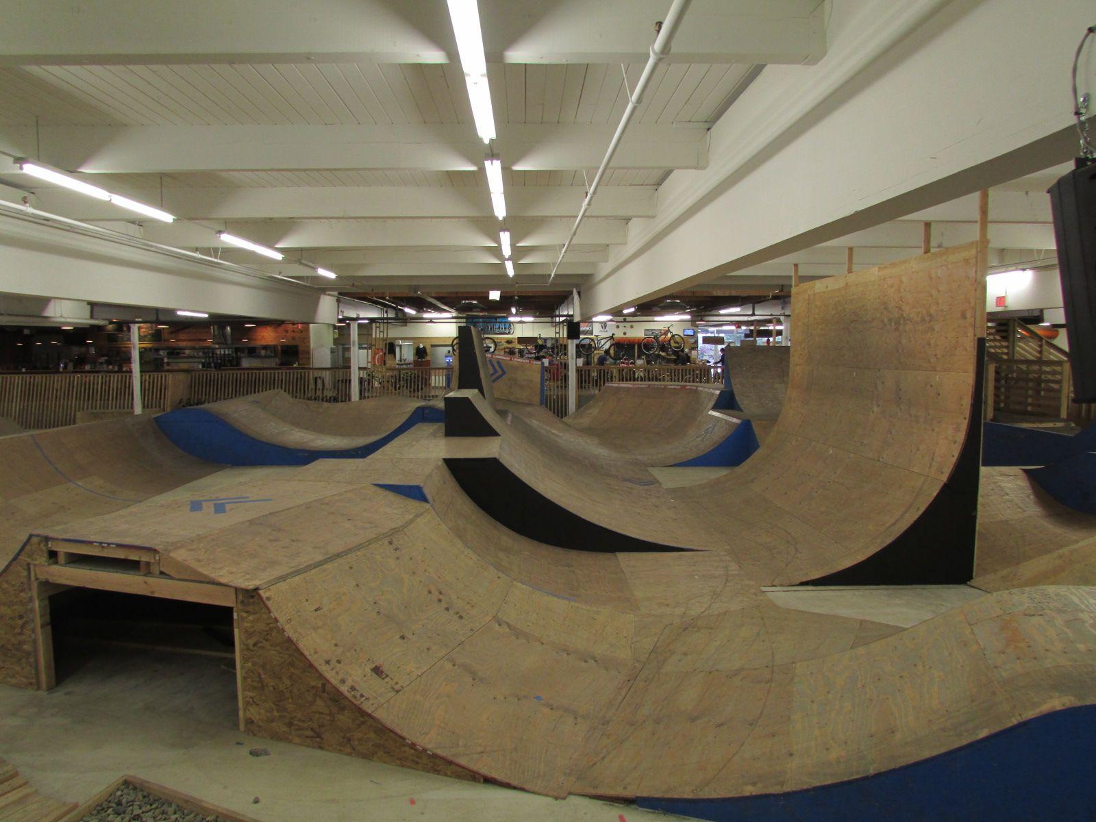Explore Portland Oregon Lumberyard Indoor Bike Park Me