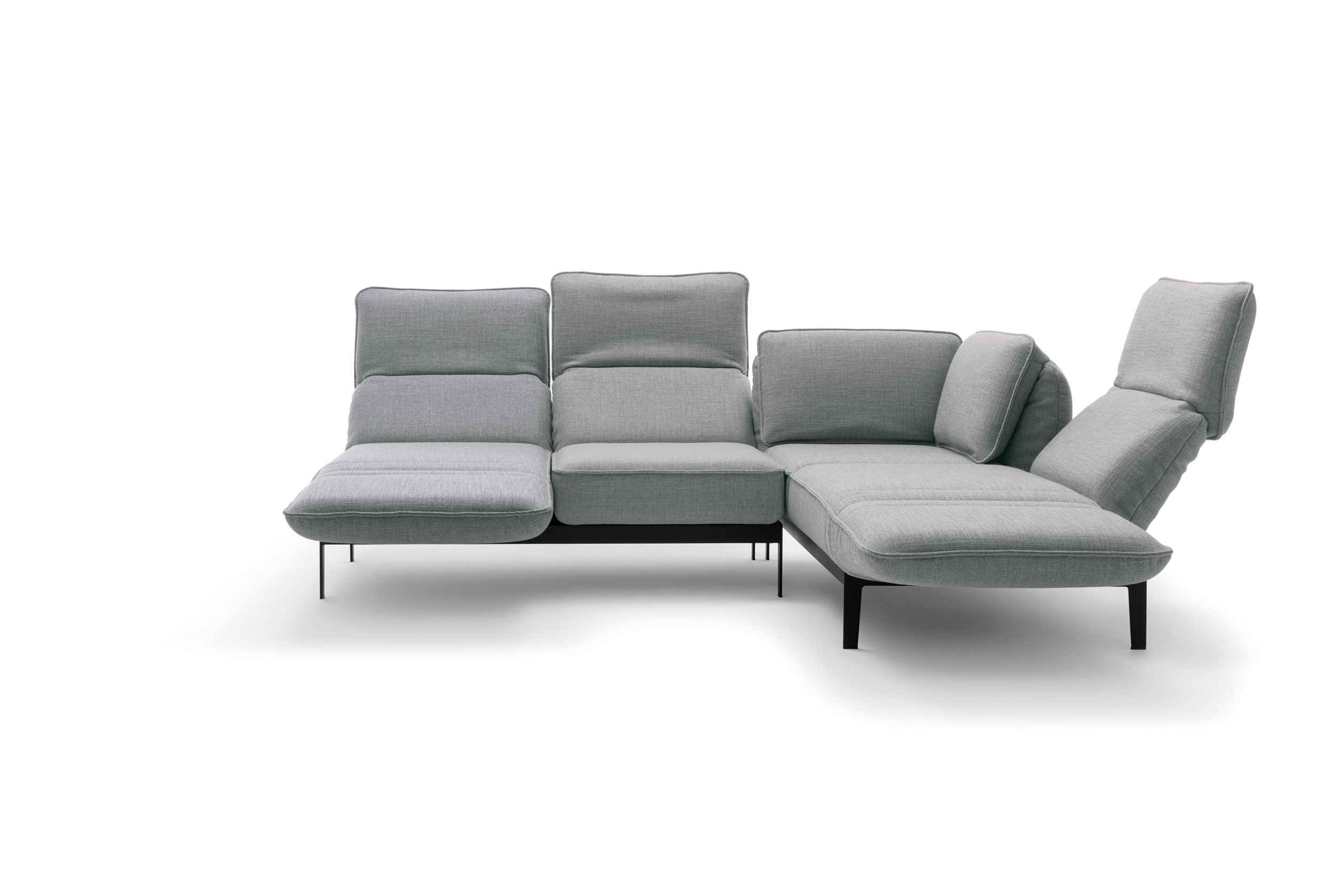 Rolf Benz AGIO sofa with mechanism Available at Studio Anise