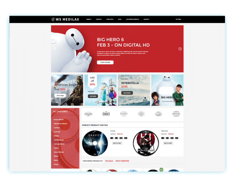 Download Free WS Medilax Wordpress theme