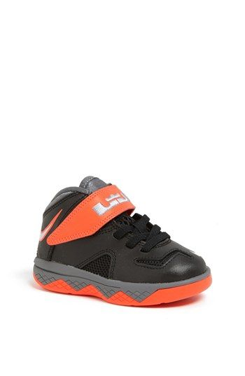 Nike 'LeBron Soldier 7' Basketball Shoe (Baby, Walker & Toddler) |