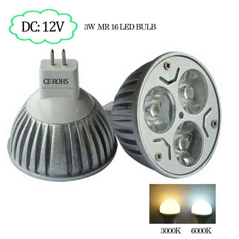 High Brightness 2pcs Mr16 Led Bulb Dc 12v 3w 350lm 3 Years Warranty Free Shipping Mr16 Led Bulbs Led Bulb Bulb