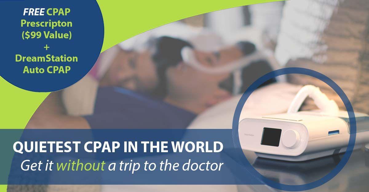 Free cpap prescription refill with dreamstation auto