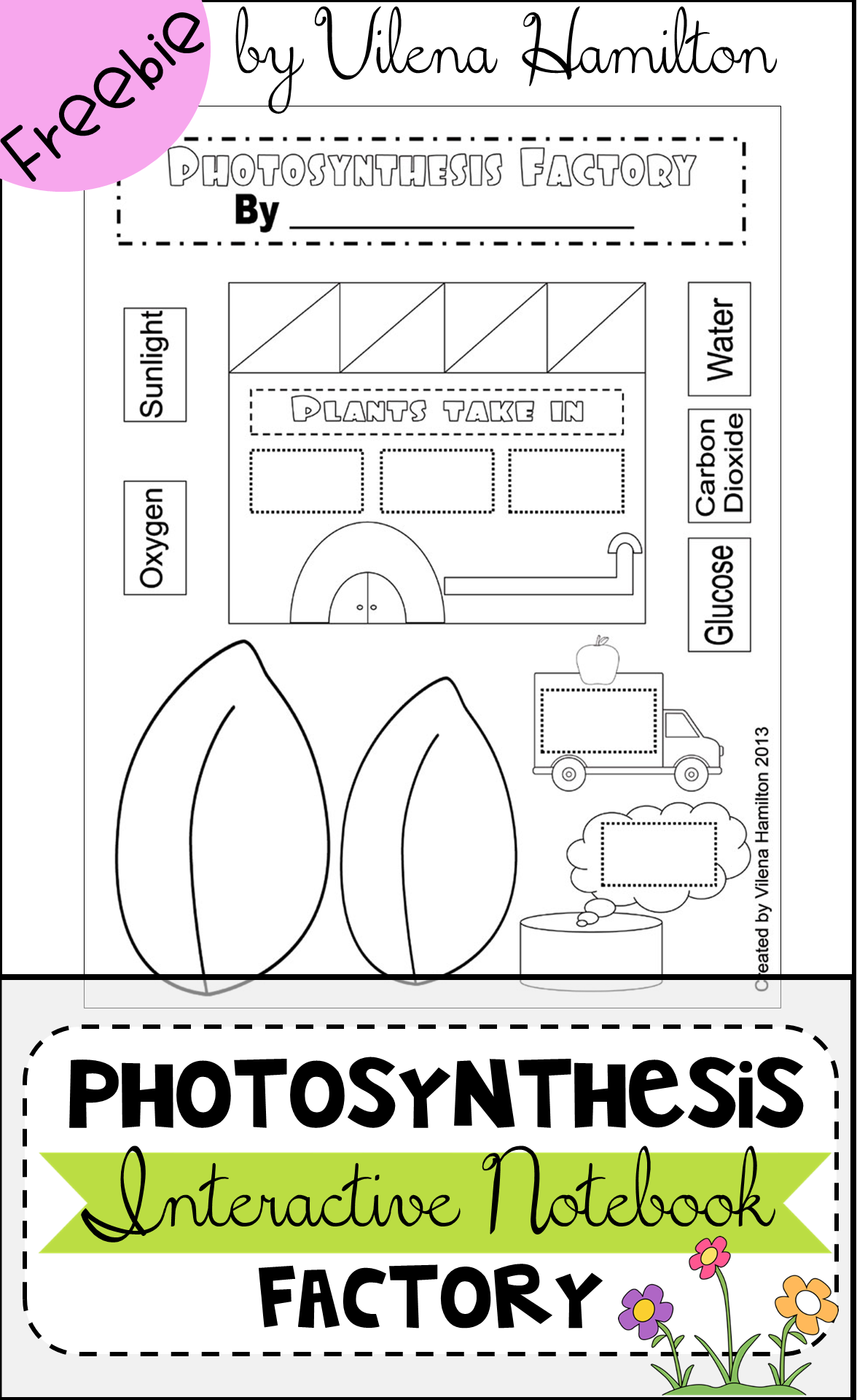 Free Photosynthesis Factory Craftivity