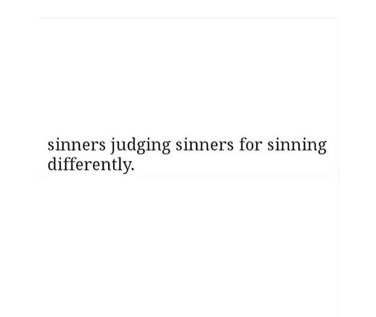 examples of sin