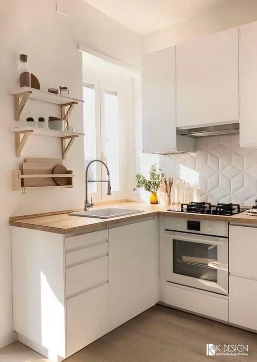 두 배 여유로운 좁은 부엌 인테리어를 위한 공간 연출 방법 네이버 블로그 부엌 인테리어 디자인 작은 아파트 부엌 부엌 디자인