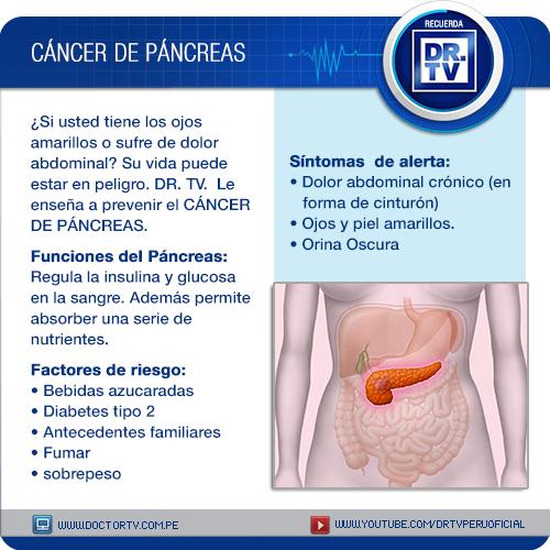 tumor de páncreas síntomas benignos de diabetes