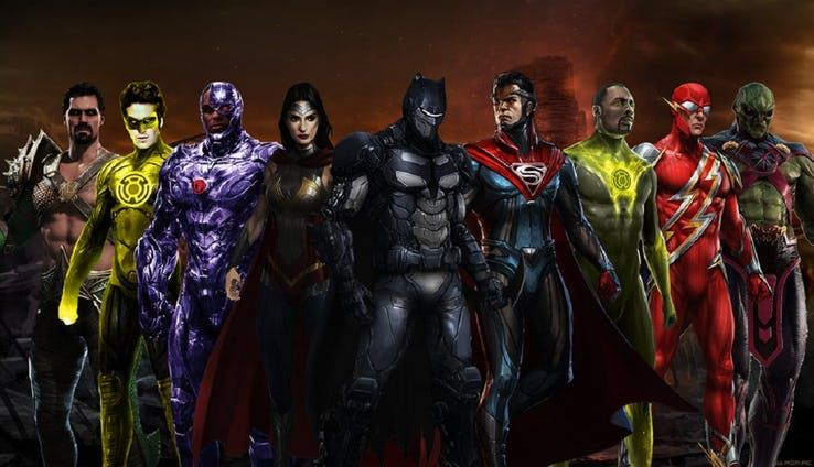 20 Members Of The Justice League Reimagined As Villains Justice League Villain Avengers Movies