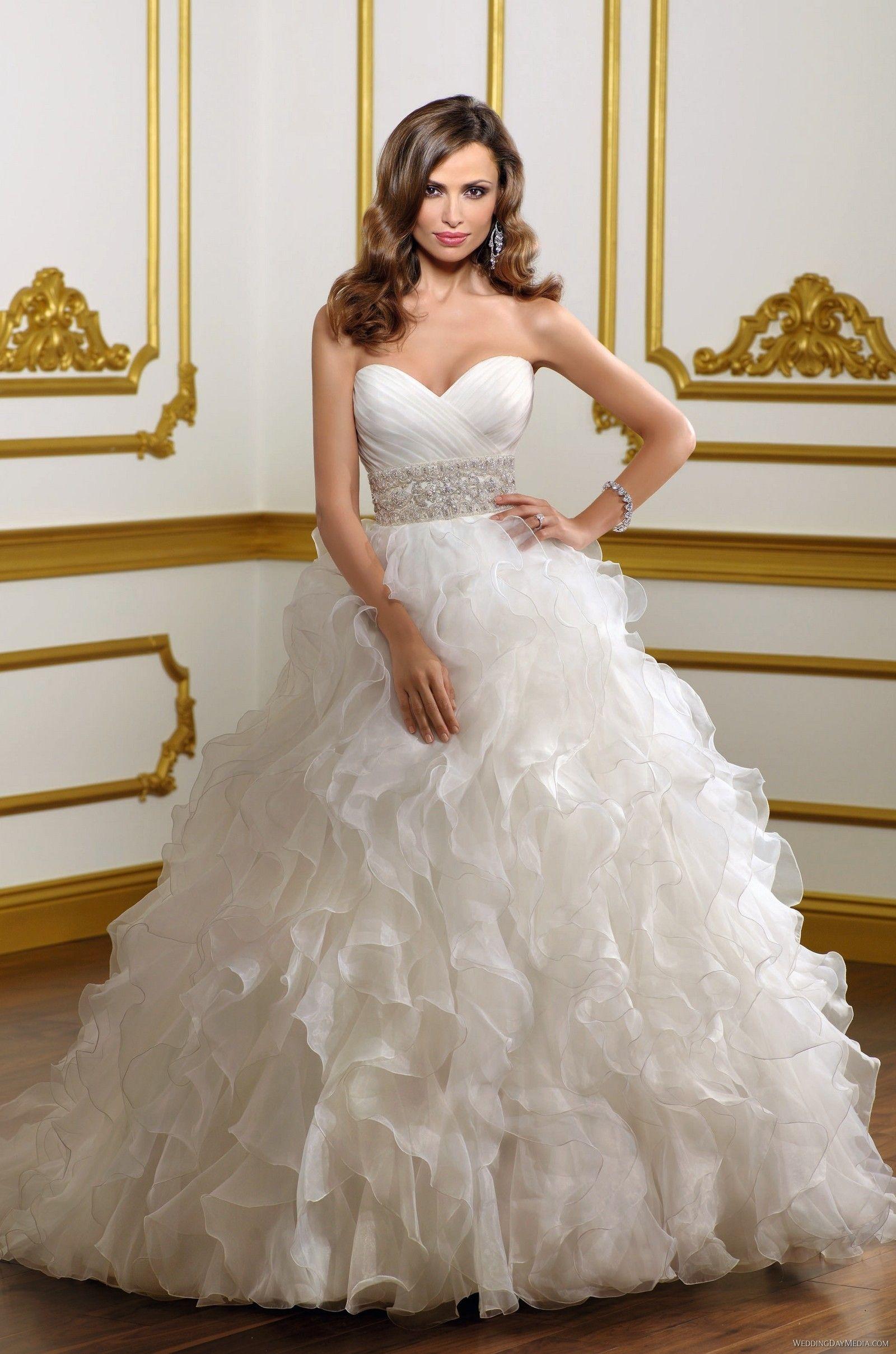 Fluffy organza dress from Bridal by Mori Lee #bride #bridal #dress ...