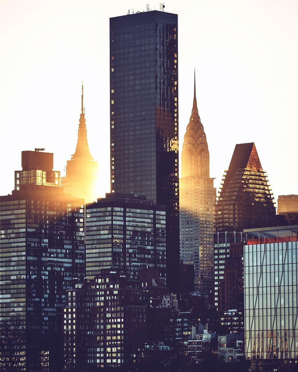 Beautiful shot of Midtown Manhattan skyline by Paul Seibert @pseibertphoto | via newyorkcityfeelings.com - The Best Photos and Videos of New York City including the Statue of Liberty Brooklyn Bridge Central Park Empire State Building Chrysler Building and other popular New York places and attractions.