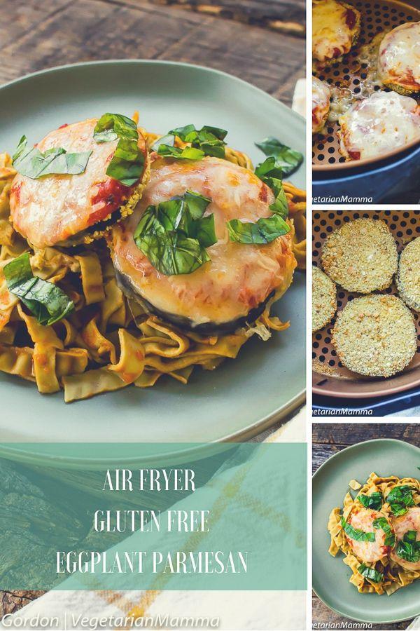 Air Fryer Gluten Free Eggplant Parmesan Air Fryer Gluten