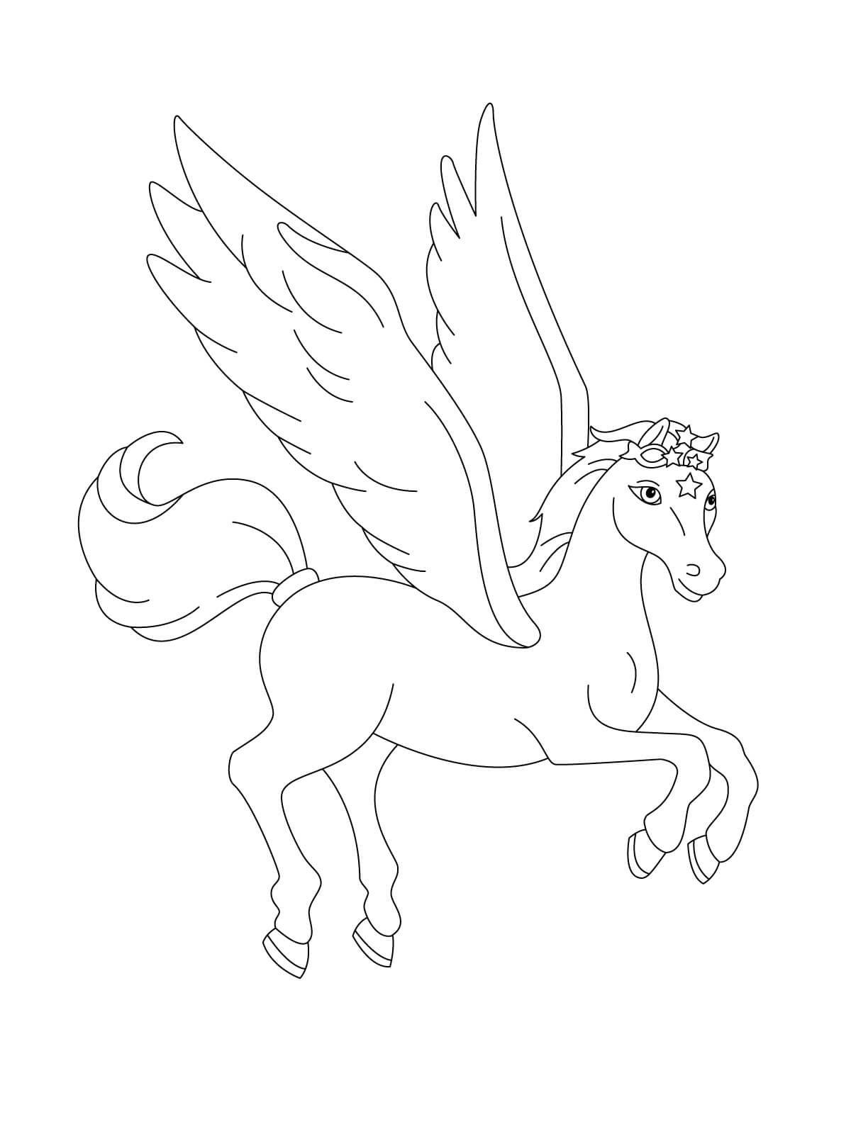 28+ Winged Unicorn Alicorn Coloring Page