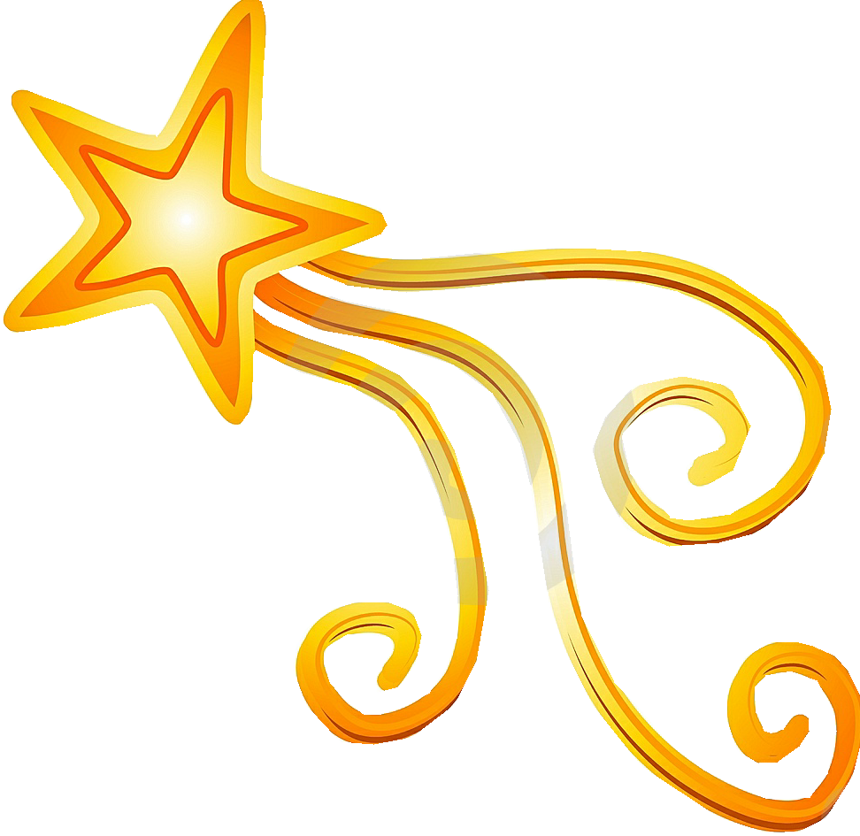 Best Shooting Star Clipart 13030 Star