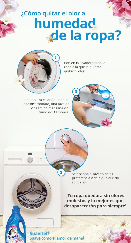 Cómo Quitar El Olor A Humedad De La Ropa Un Tip Suavitel Trucos Para Lavar La Ropa Trucos De Limpieza Consejos De Limpieza