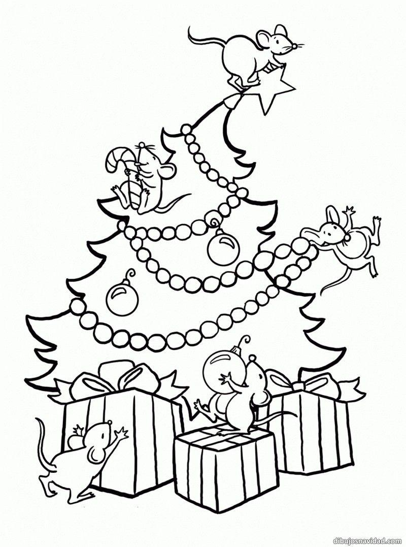 Pin De Kasia S En Ratoncito Perez Arbol De Navidad Para Colorear Paginas Para Colorear De Navidad Dibujos De Navidad