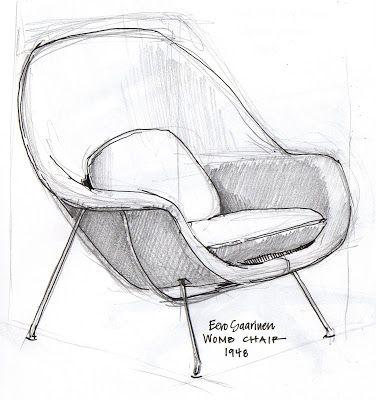 Goldilocks And The Designer Chairs Drawing Furniture Furniture Design Sketches Interior Design Sketches