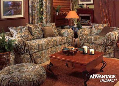 Realtree Couch | Advantage Sofa And Chair Slip Covers By Realtree