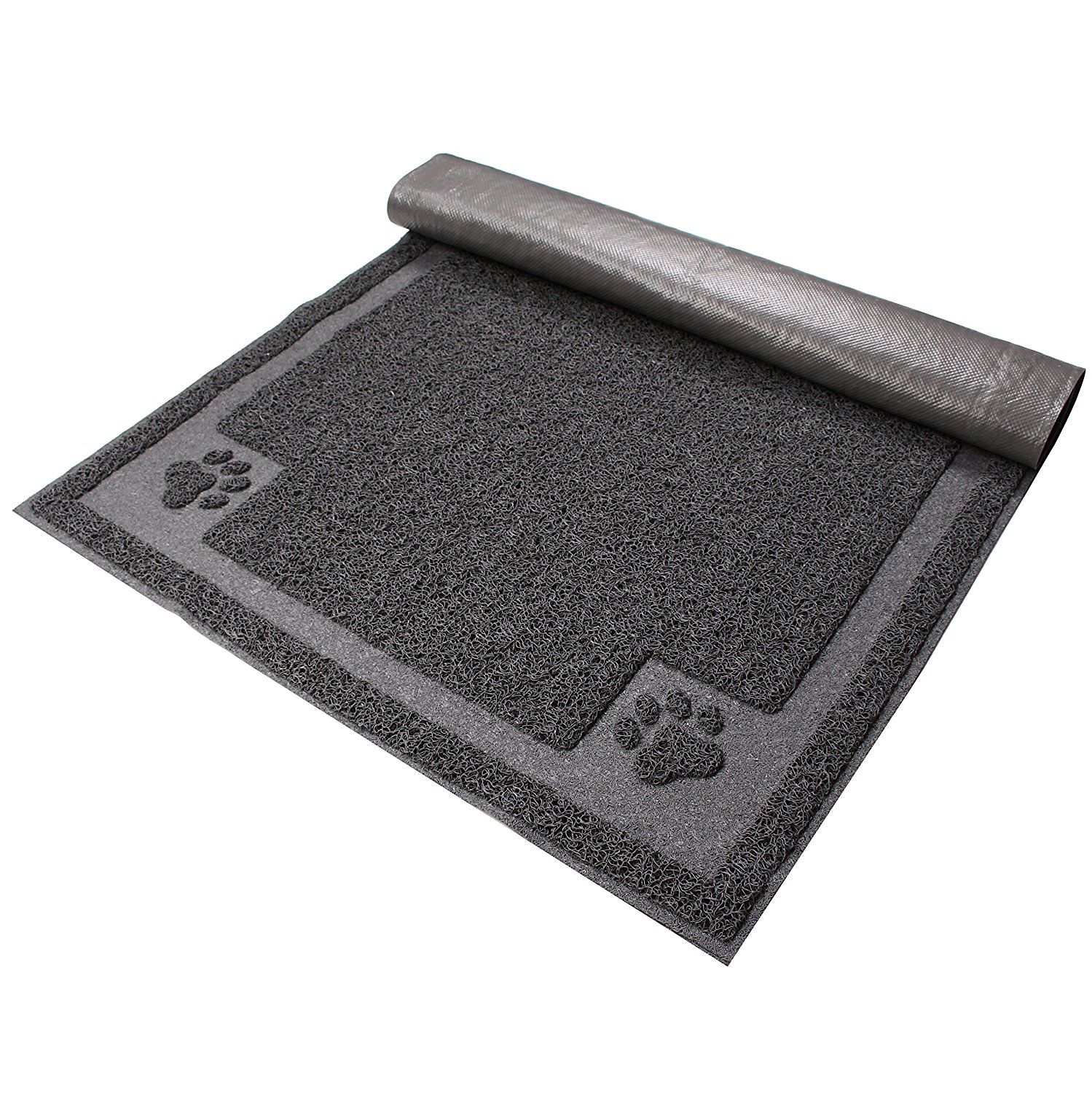catroad Cat Litter Mat, Extra Large Size, Washable Non