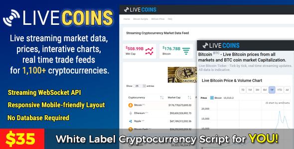 live chart cryptocurrency