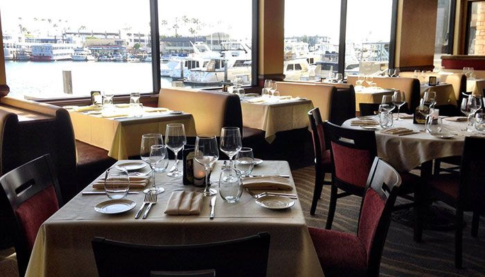 The Winery Waterfront Dining In Newport Beach Ca