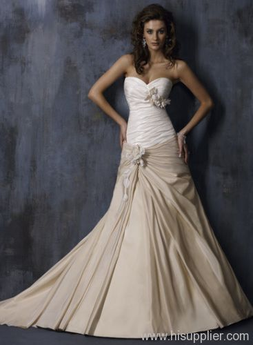 Y Two Tone Wedding Dress Love The Colors
