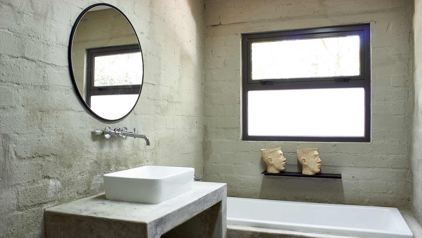 Cemwash A Rough Textured Cement Wall Finish Cemcrete Trendy Bathroom Tiles Cement Walls Interior Wall Design