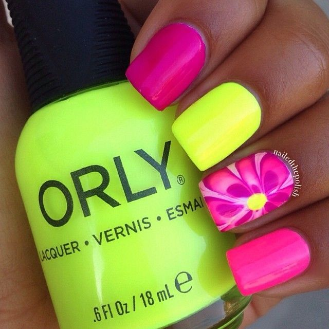 15 Beautiful Neon Summer Nails That Will Get You Ready For The