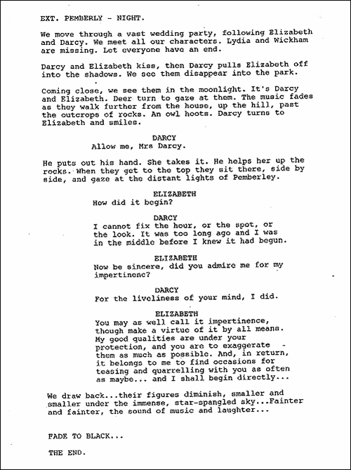 Business Essay Examples Why The Heck They Didnt Put This Scene As The Ending Of  Pride And  Prejudice Movie Thesis Statement In An Essay also Essay On My Mother In English Why The Heck They Didnt Put This Scene As The Ending Of  Pride  Essays About English