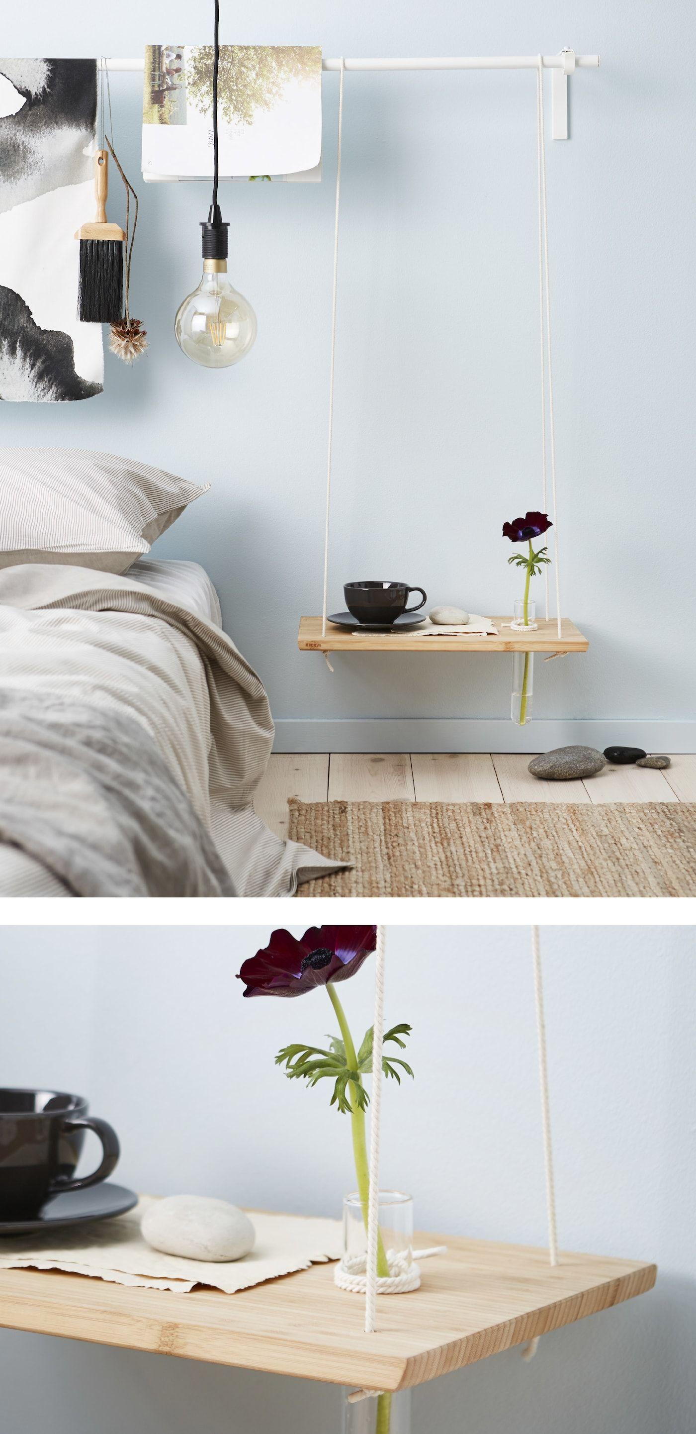 Nachttisch Clever Verschonern Nachttisch Nachttisch Ideen Zimmer Dekoration Diy
