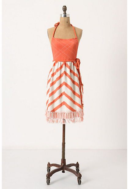 modern aprons by Anthropologie