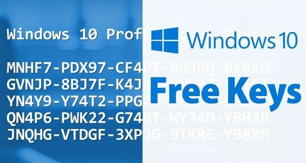 win 10 product key for free