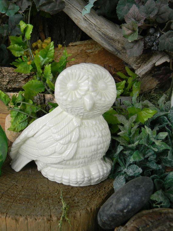 Planter Flower pot Hootie Owl Modern  by EnchantdMushroomLand