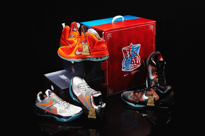 e06dd42fc9b ... HD Nike All Star Pack Lebron X Kobe 8 Kd V (GS)