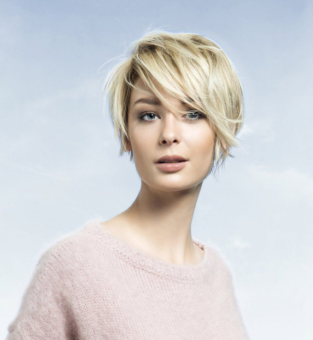 Coupe courte 40 coupes pour cheveux courts cosmos for Coupe cheveux court fin blond