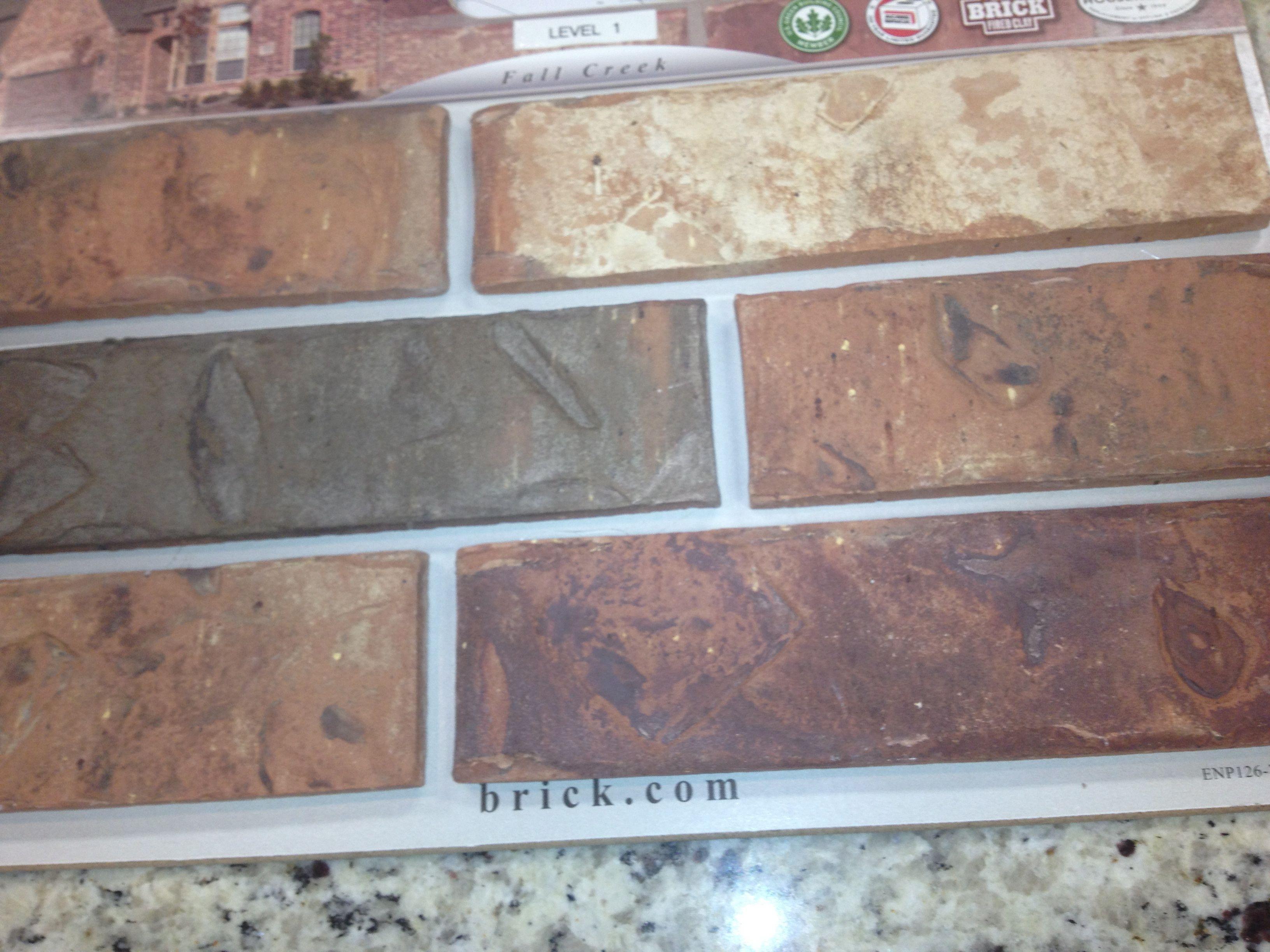acme brick: chocolate bayou | Ideas for the House | Pinterest ...