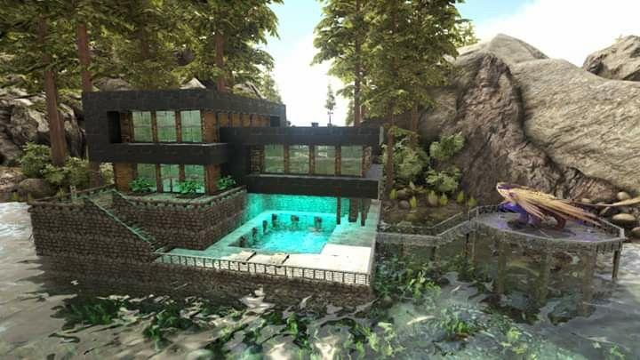 Ark Survival Evolved Dinosaur Pen Build Ark Survival Evolved Ark Survival Evolved Bases Ark Survival Evolved Tips