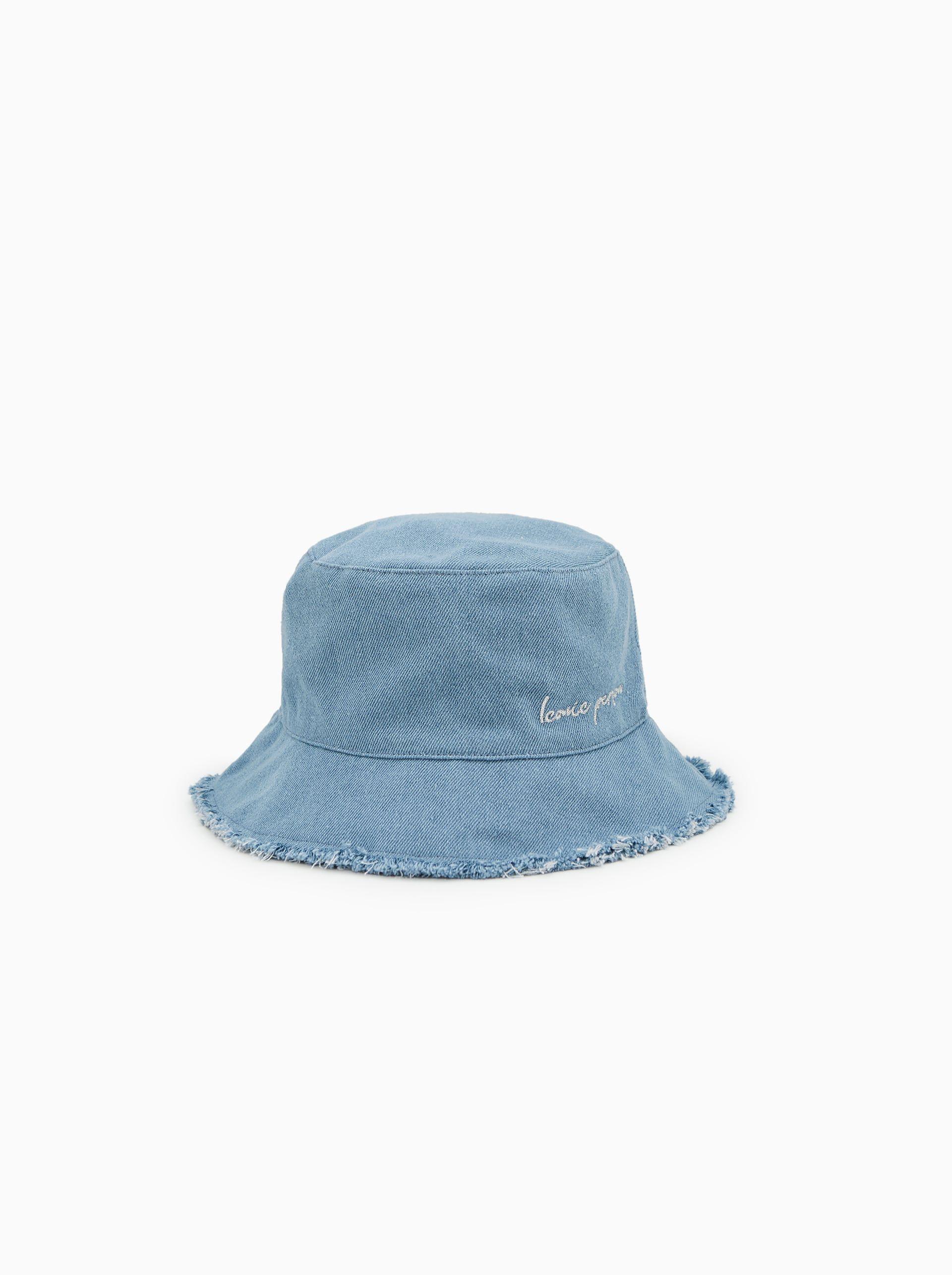 a61fec78 Frayed denim hat in 2019   Kids Hat   Denim hat, Kids hats, Baby hats