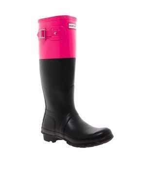 Hunter Original Colour Block Wellington Boots