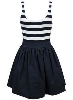 nautical dress <3