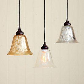 Can Light Adapter Mercury Glass Pendant Ballard Designs In 2021 Glass Pendant Shades Mini Pendant Lights Pendant Light Replacement glass shades for pendant lights