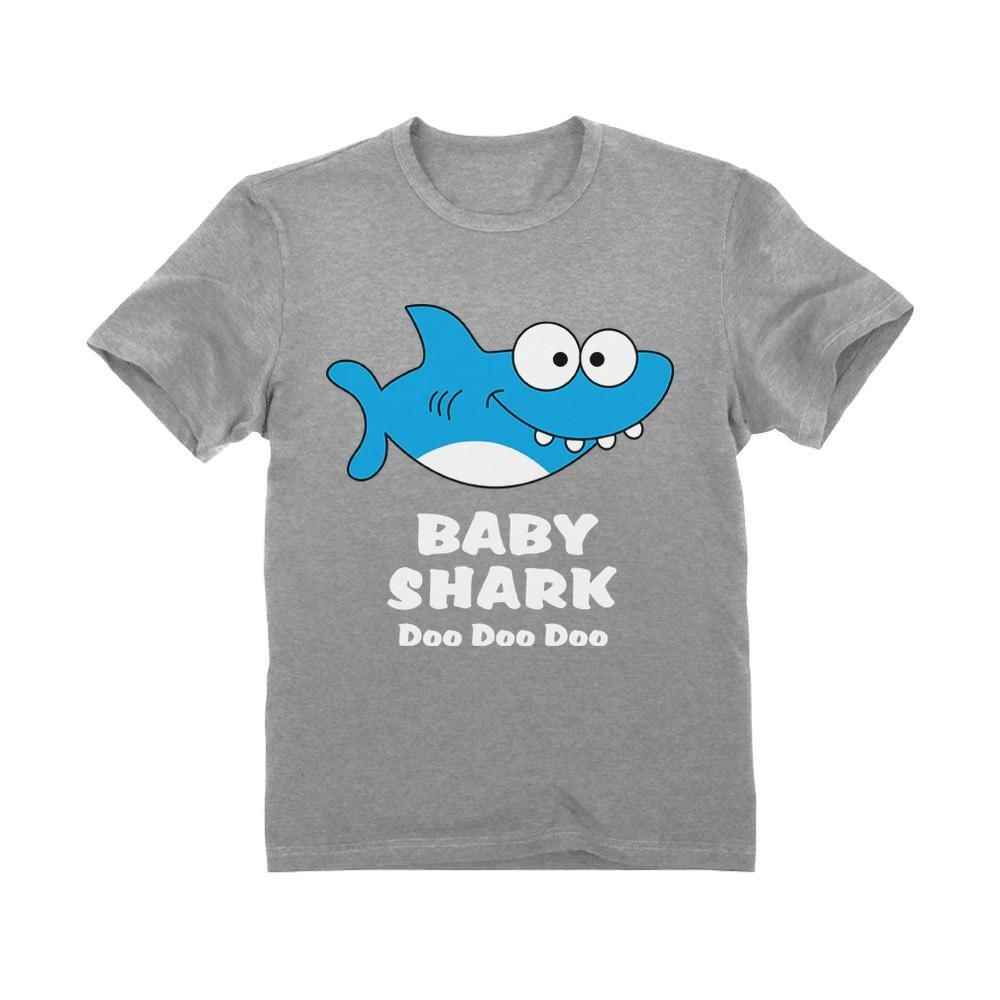 inktastic My Grampa Loves Me with Cute Sharks Baby T-Shirt