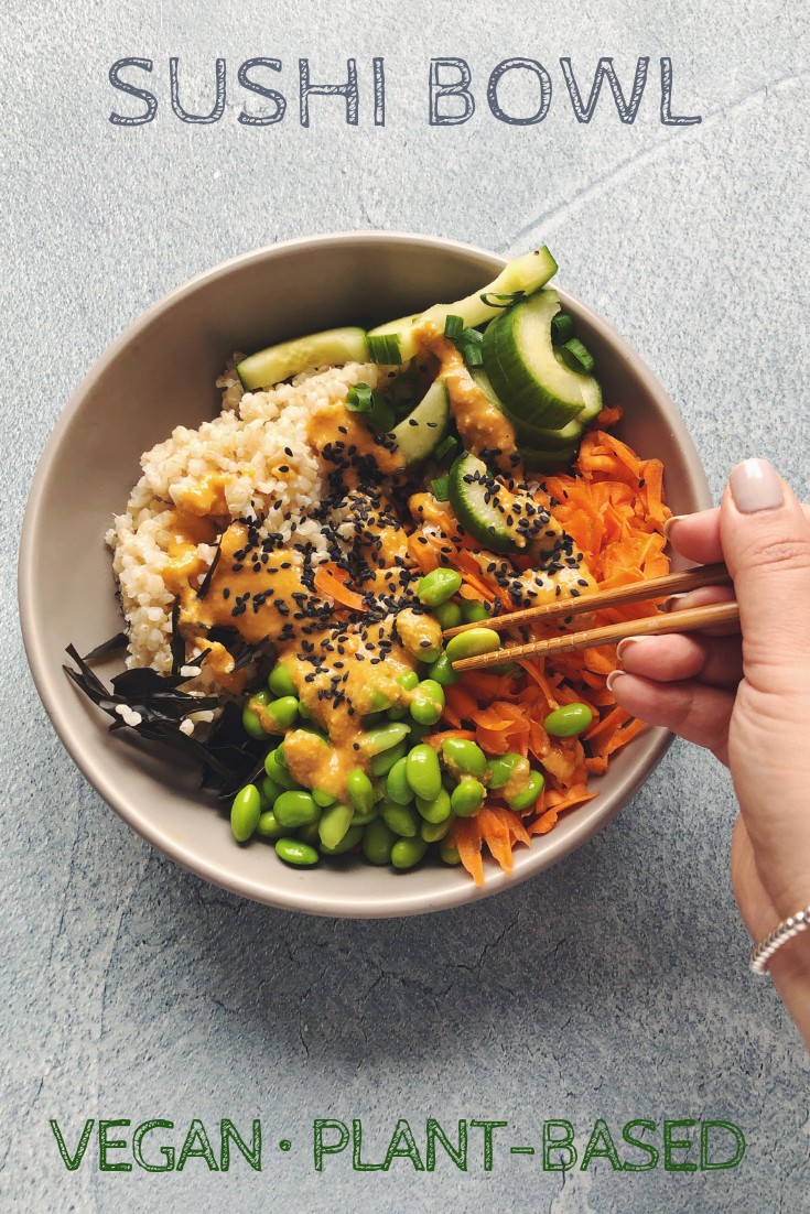 Sushi Bowl -   15 plant based diet Recipes ideas