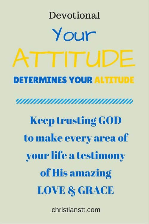 Dewdrops - Your Attitude Will Determine Your Altitude | I BELIEVE