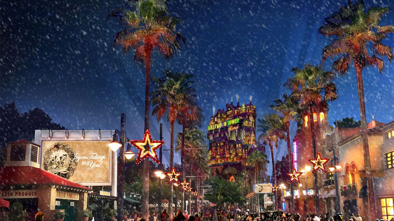 Sunset Seasons Greetingsat Disney's Hollywood Studios