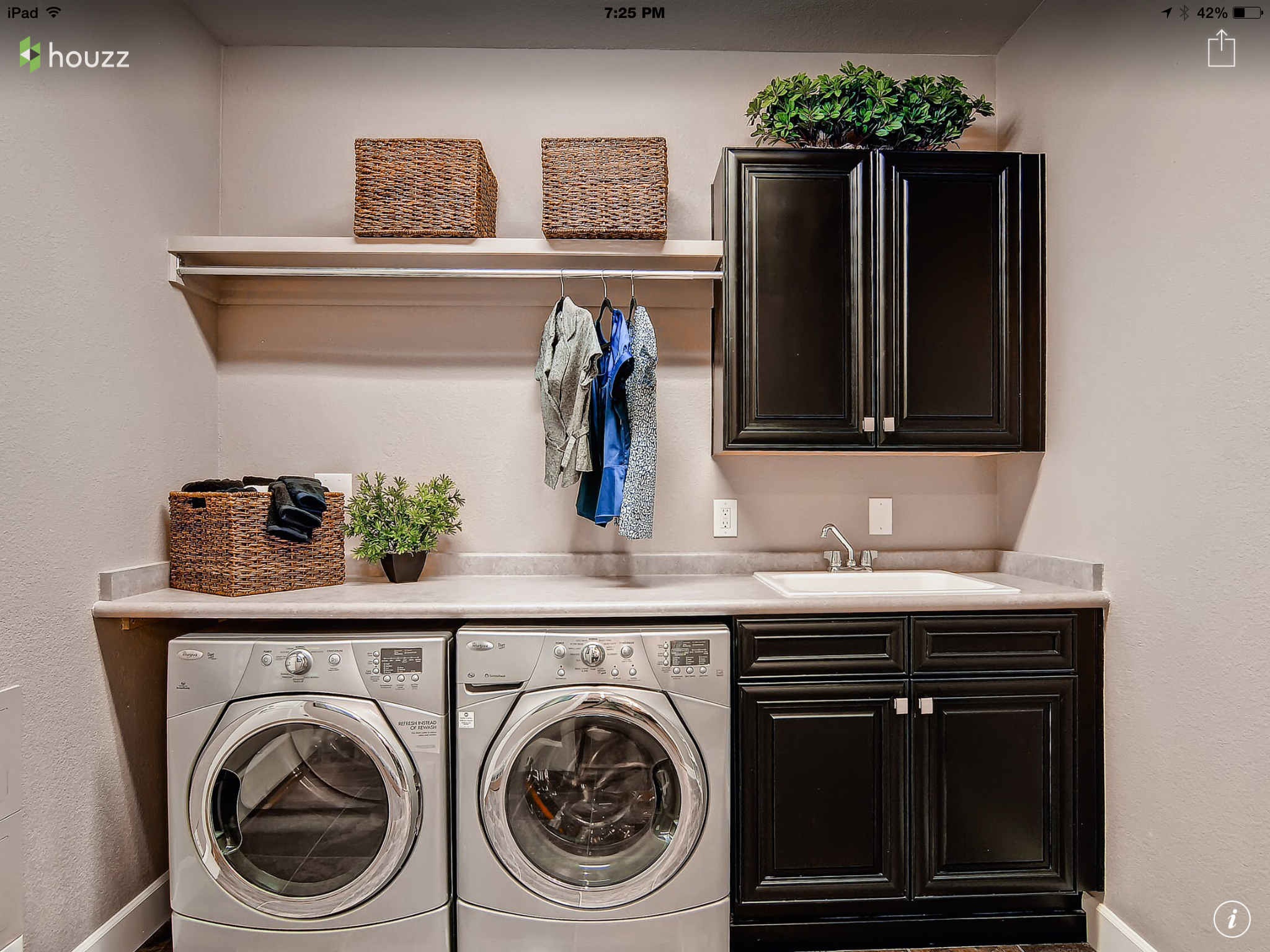 Level The Sink With The Washerdryer For One Even Countertop