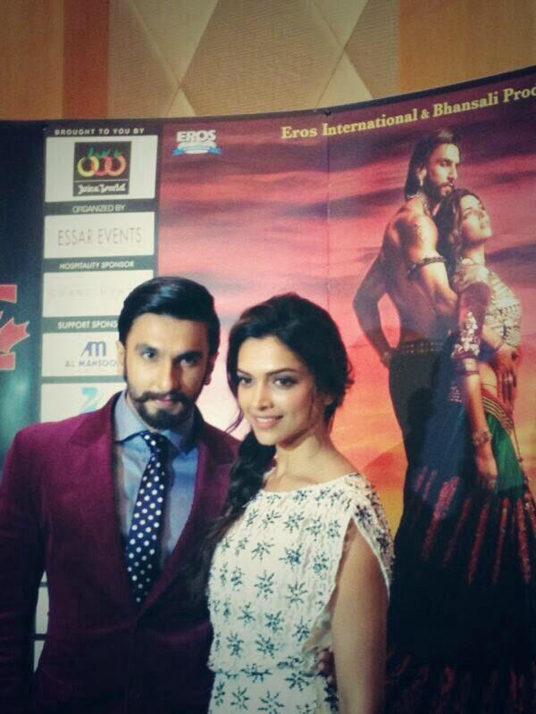 Deepika Padukone And Ranveer Singh Promote Ram Leela In Dubai Bollywood Stars Leela Deepika Padukone
