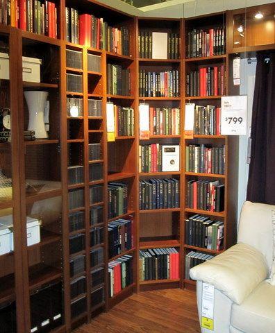 Ikea Billy Bookshelf Display
