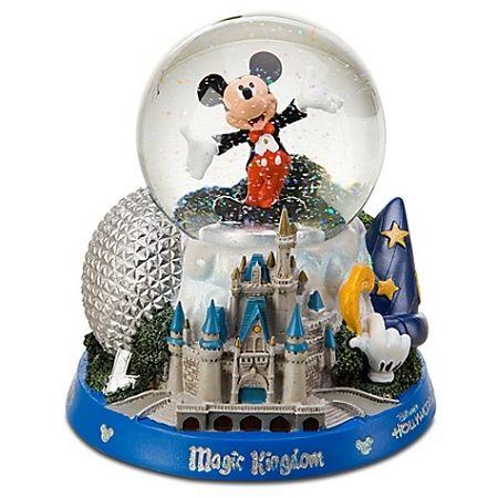 Disney Snow Globe Walt Disney World Icons Mickey Mouse