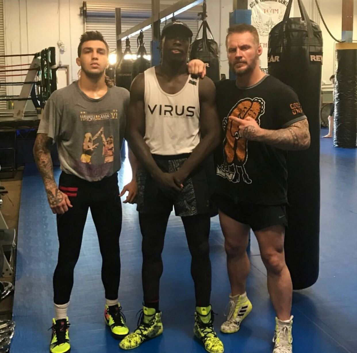 Csw Curtis Millender Ben Jones Jacob Rosales Jiu Jitsu Gym Mma Gym Kickboxing Classes
