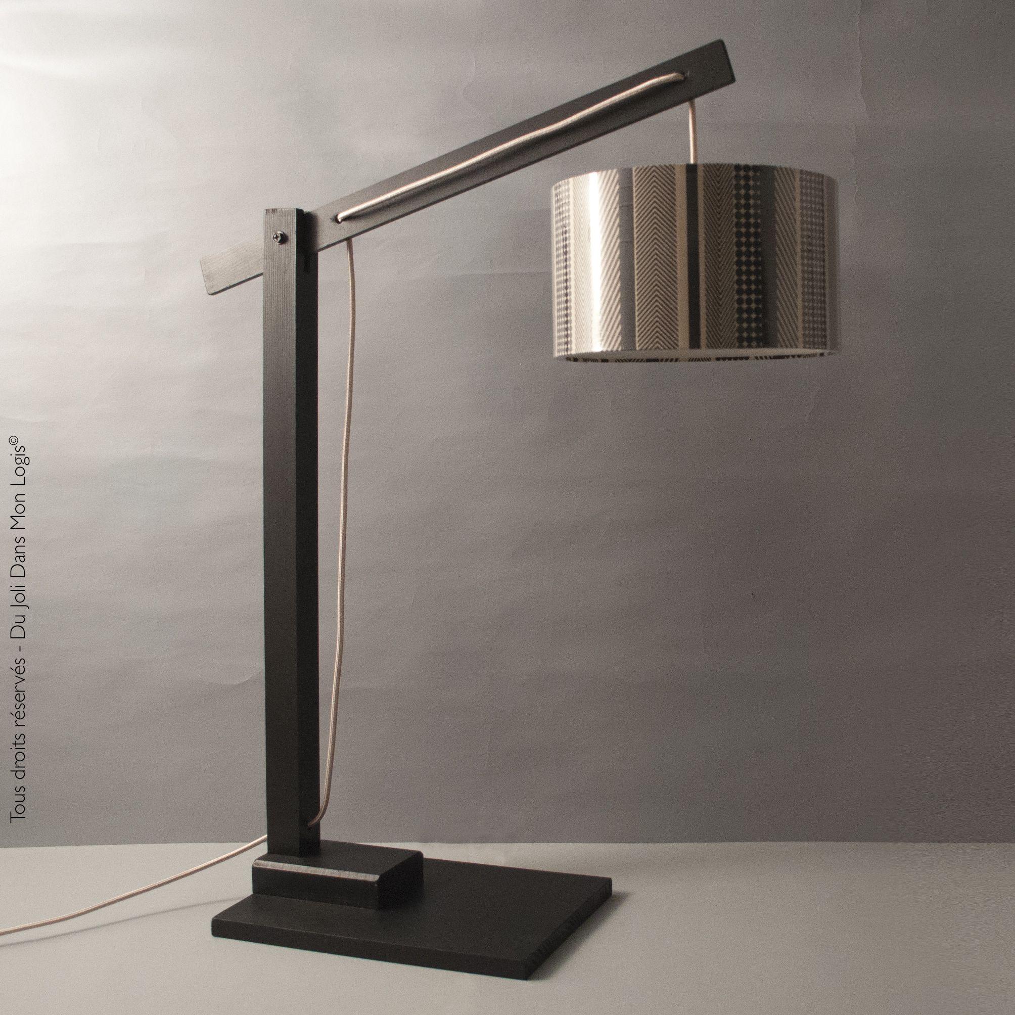 Philibert, le plus beau des luminaires ! Lampe XXL articulée en bois ...