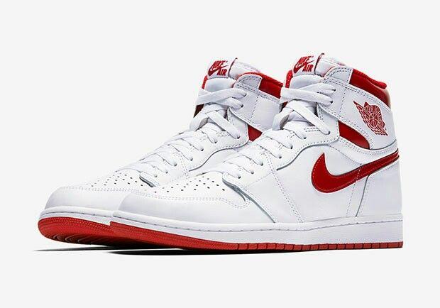 42c20d35d1c839 Nike Air Jordan 1 Metallic Red